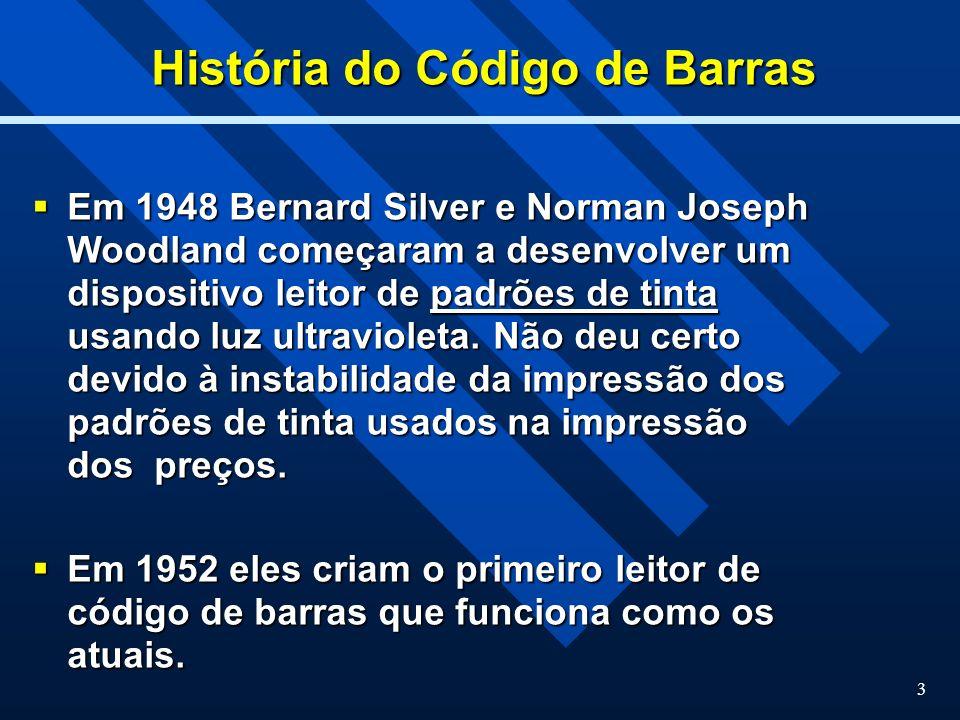 História do Código de Barras