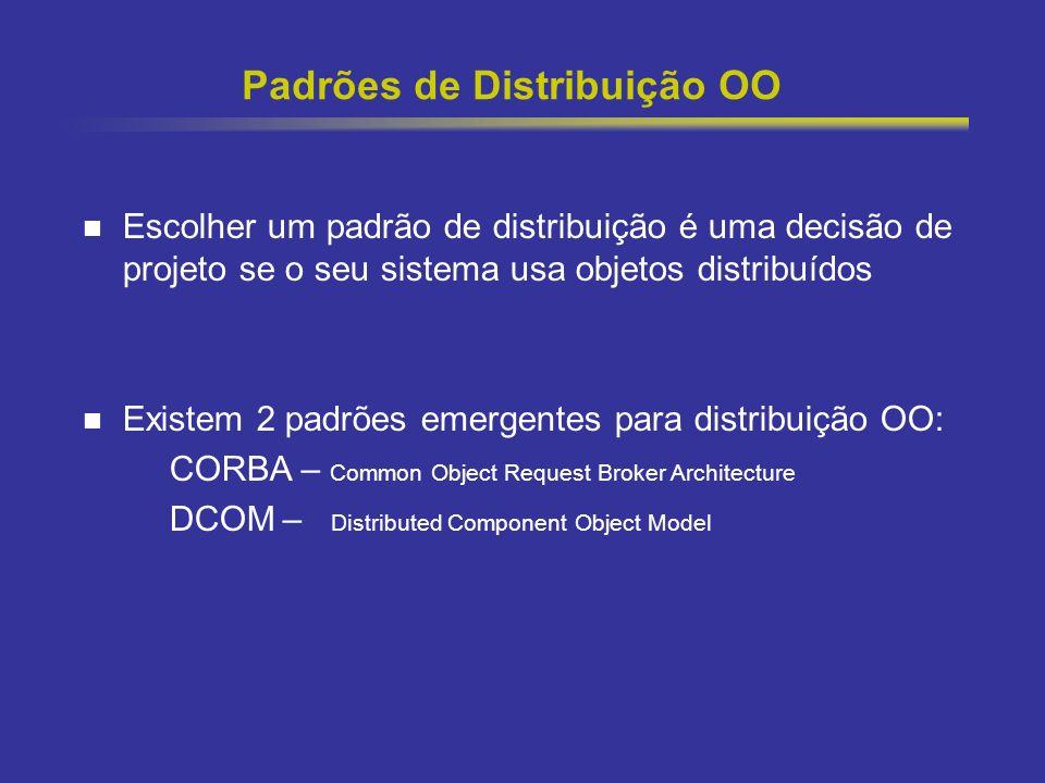 Padrões de Distribuição OO