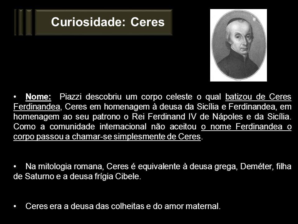 Curiosidade: Ceres