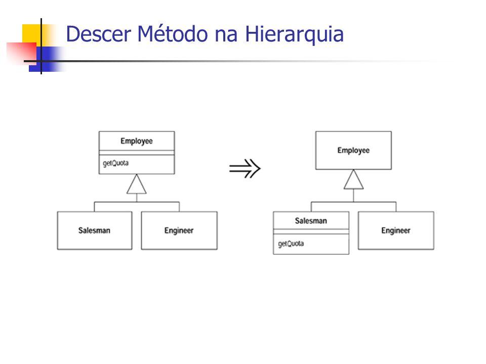 Descer Método na Hierarquia