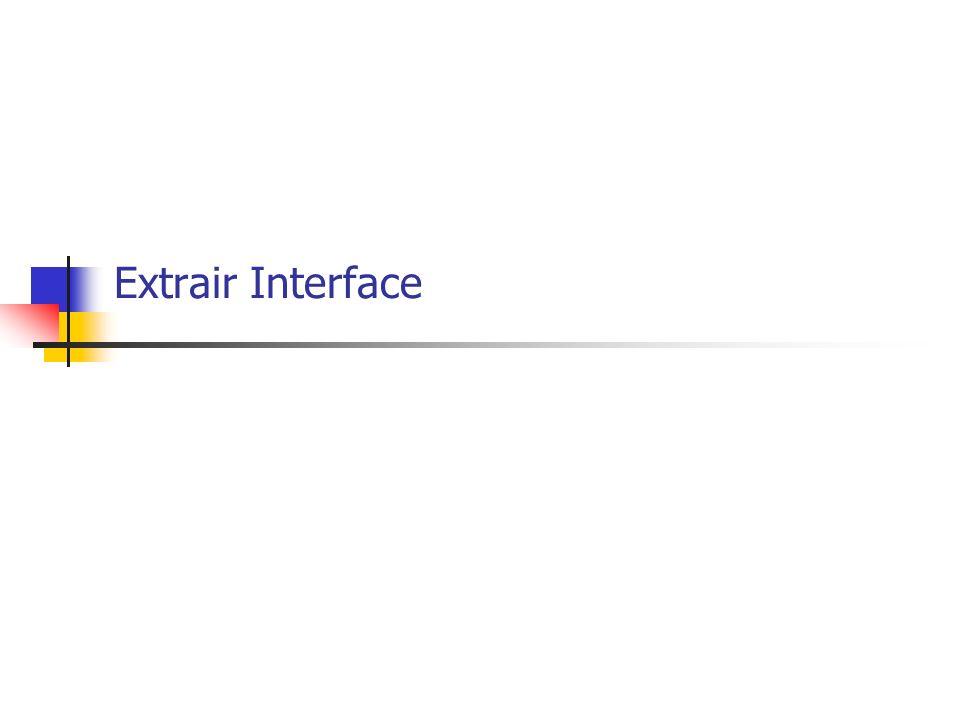 Extrair Interface