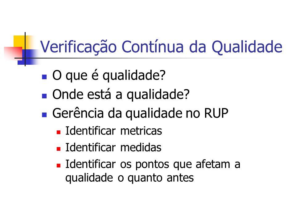 Verificação Contínua da Qualidade