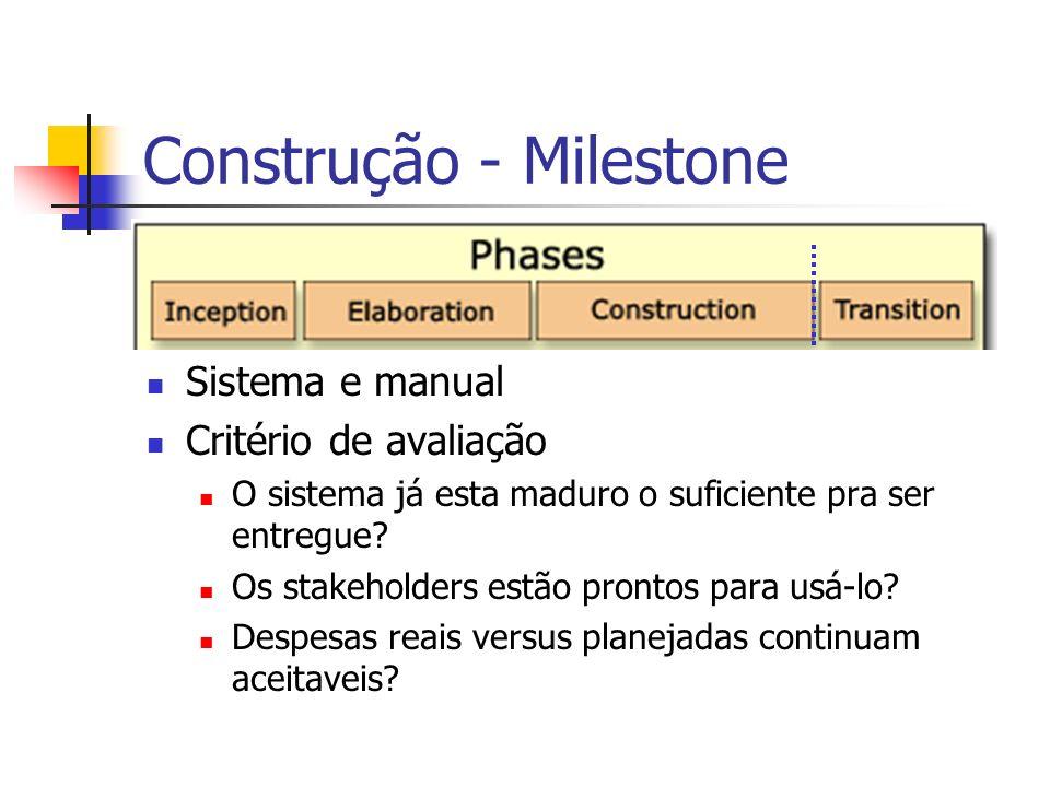 Construção - Milestone