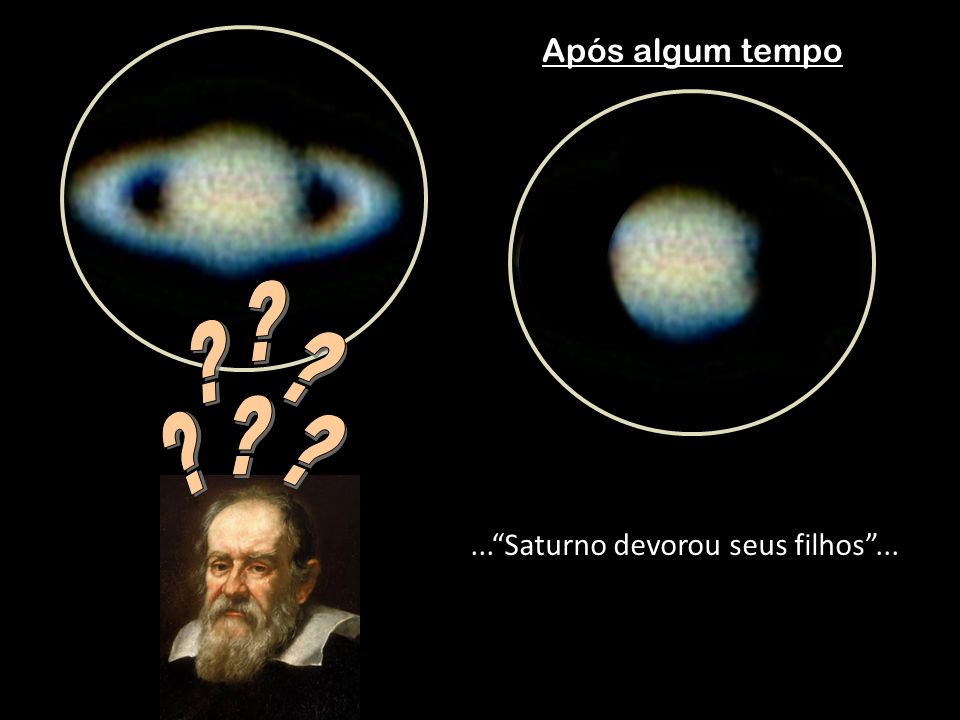 ... Saturno devorou seus filhos ...