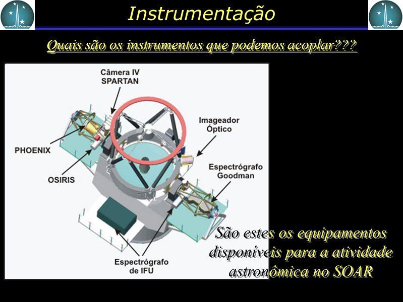 Quais são os instrumentos que podemos acoplar
