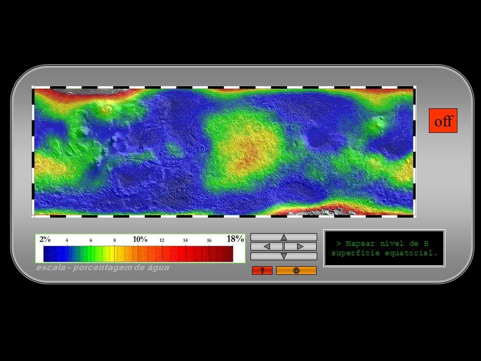 superfície equatorial.