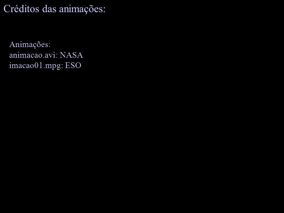 Créditos das animações: