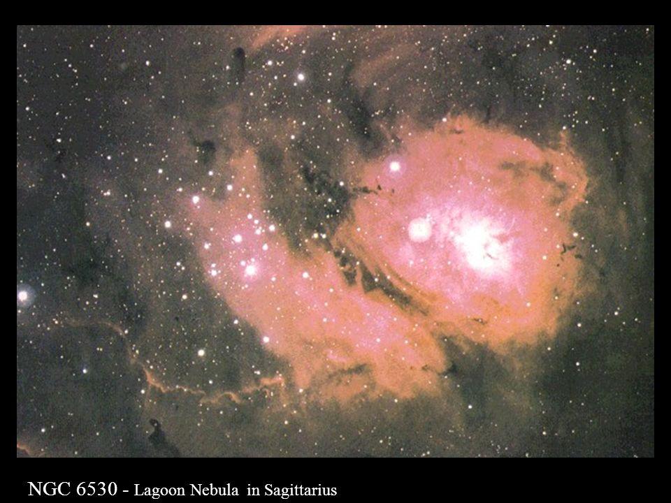 NGC 6530 - Lagoon Nebula in Sagittarius