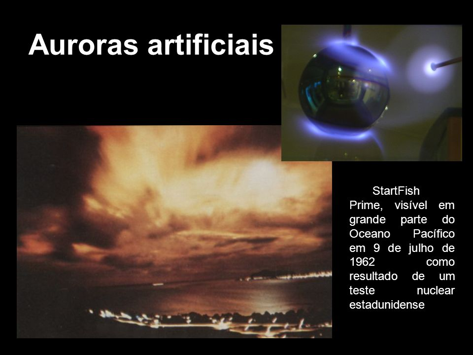 Auroras artificiais