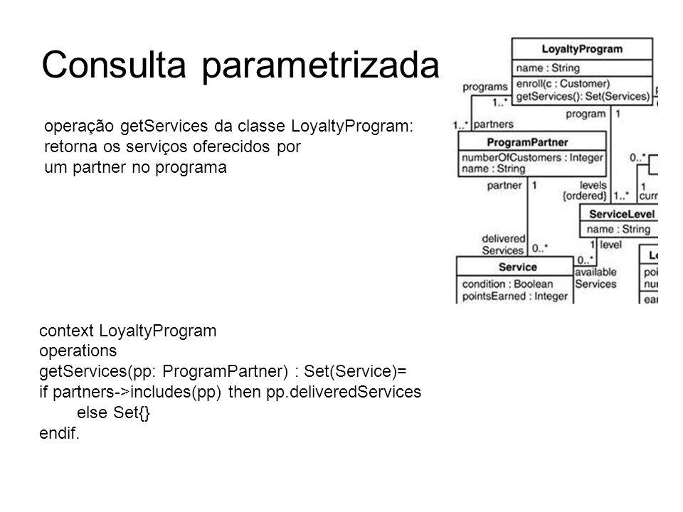 Consulta parametrizada