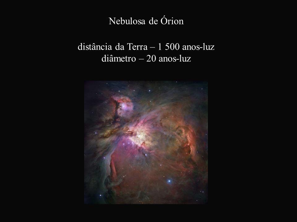 distância da Terra – 1 500 anos-luz