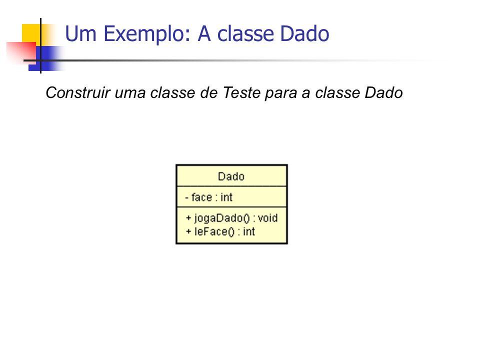 Um Exemplo: A classe Dado