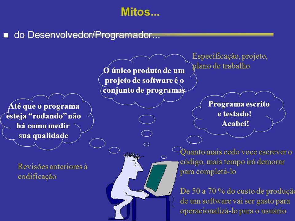 Mitos... do Desenvolvedor/Programador...