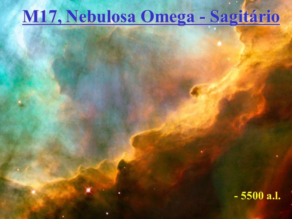 M17, Nebulosa Omega - Sagitário