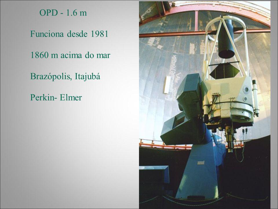 OPD - 1.6 m Funciona desde 1981 1860 m acima do mar