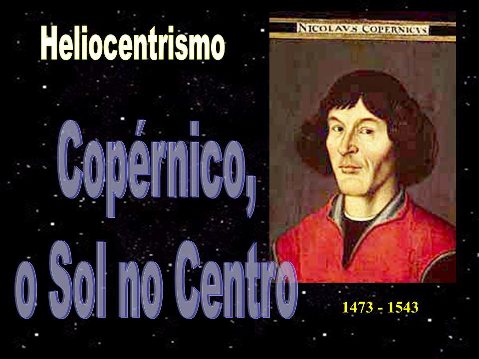 Heliocentrismo Copérnico, o Sol no Centro 1473 - 1543