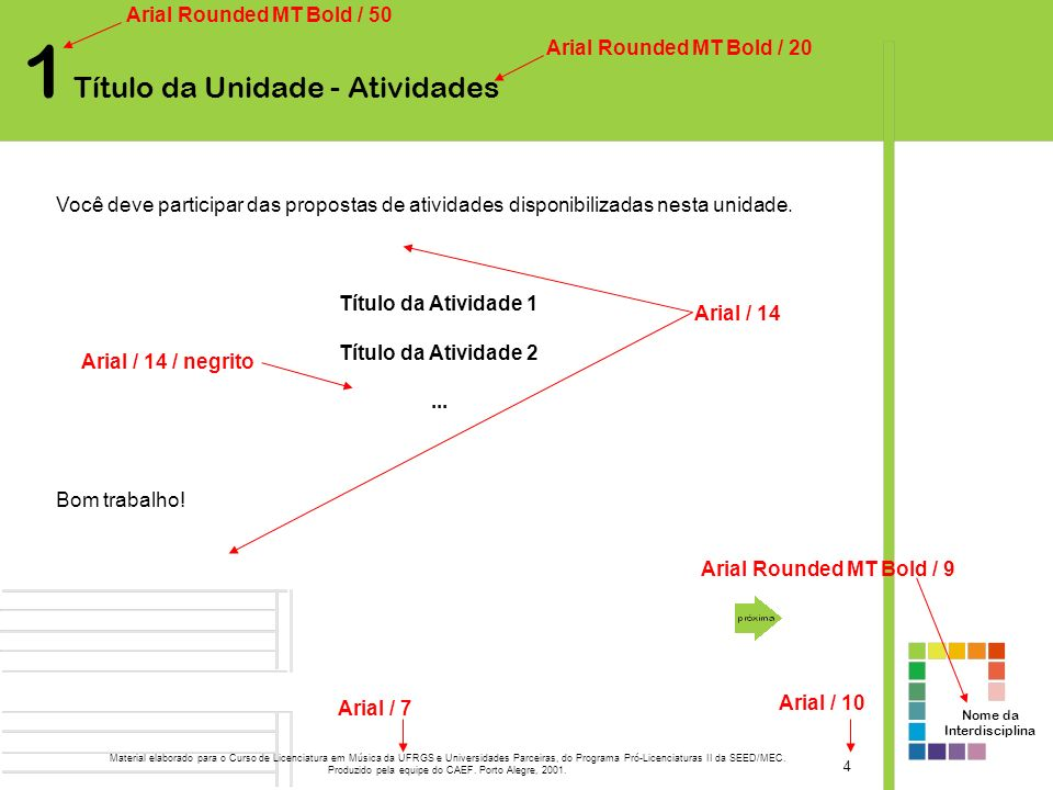 Produzido pela equipe do CAEF. Porto Alegre, 2001.