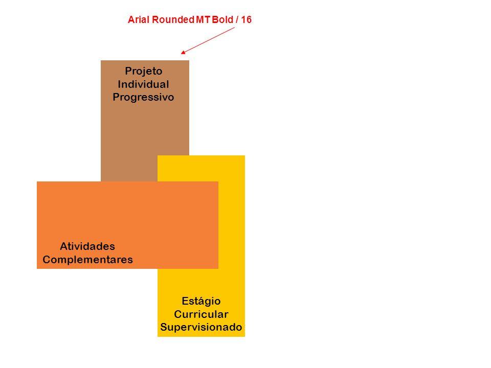 Projeto Individual Progressivo Atividades Complementares Estágio