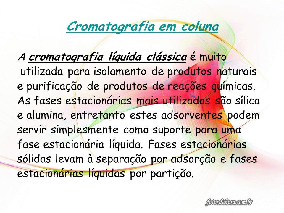 Cromatografia em coluna