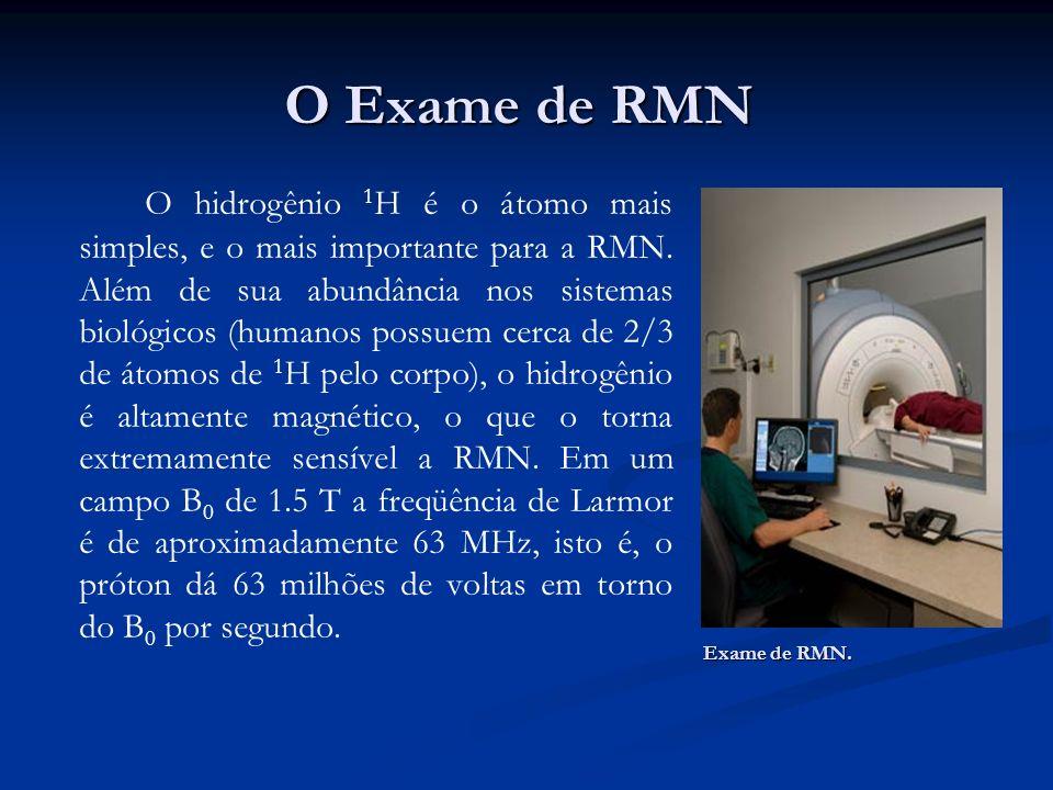 O Exame de RMN