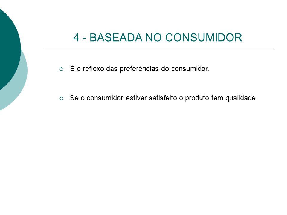4 - BASEADA NO CONSUMIDOR
