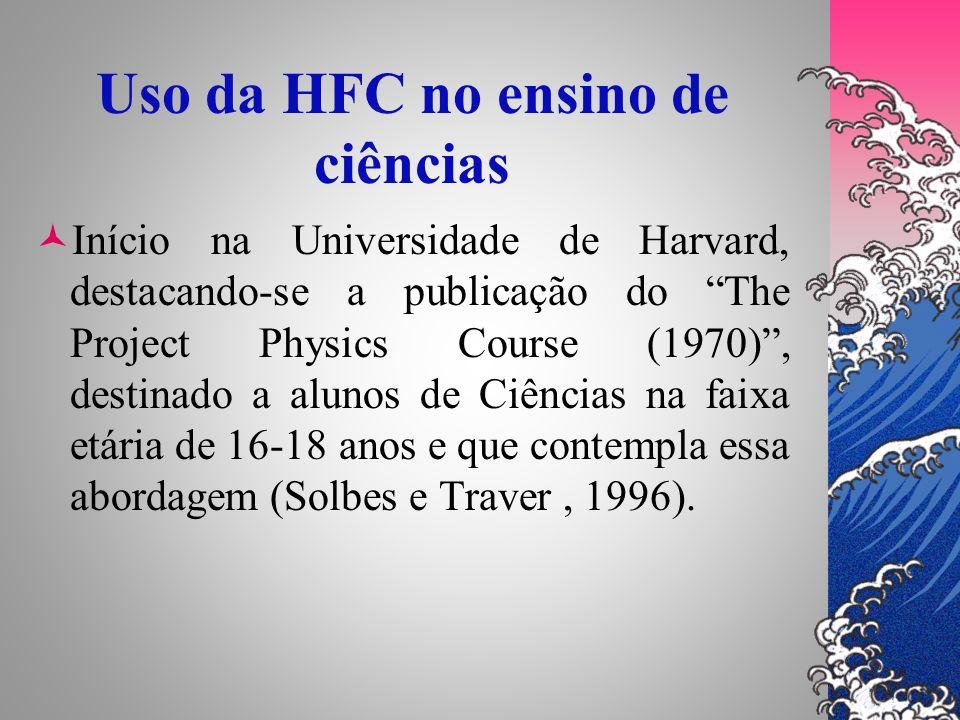Uso da HFC no ensino de ciências