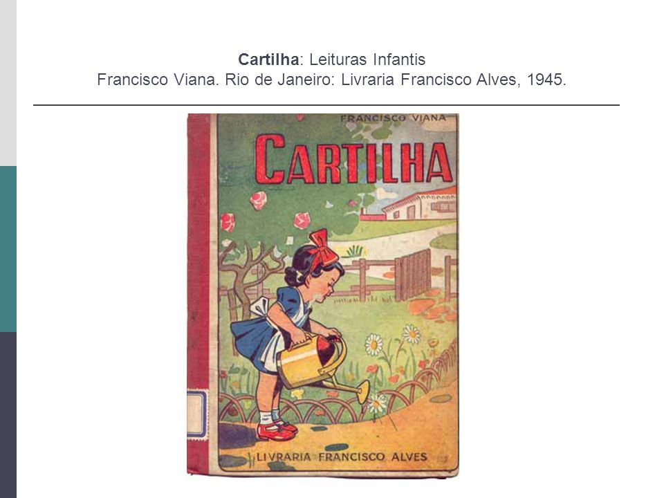 Cartilha: Leituras Infantis Francisco Viana