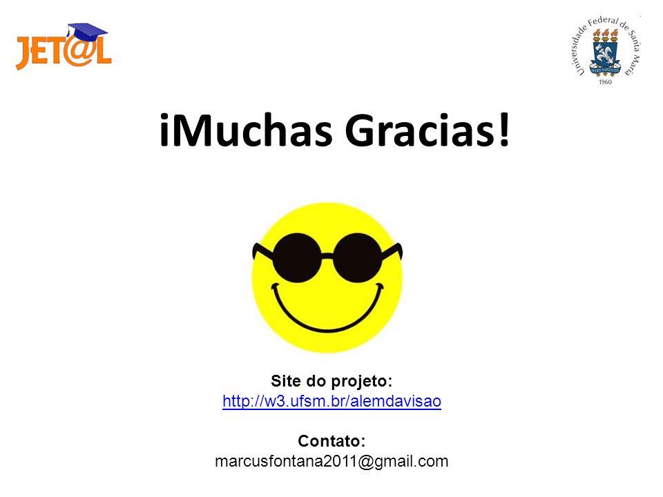 Site do projeto: http://w3.ufsm.br/alemdavisao