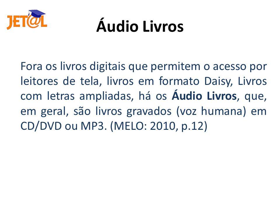 Áudio Livros