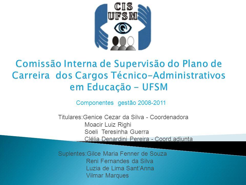 Comissão Interna de Supervisão do Plano de Carreira dos Cargos Técnico-Administrativos em Educação - UFSM