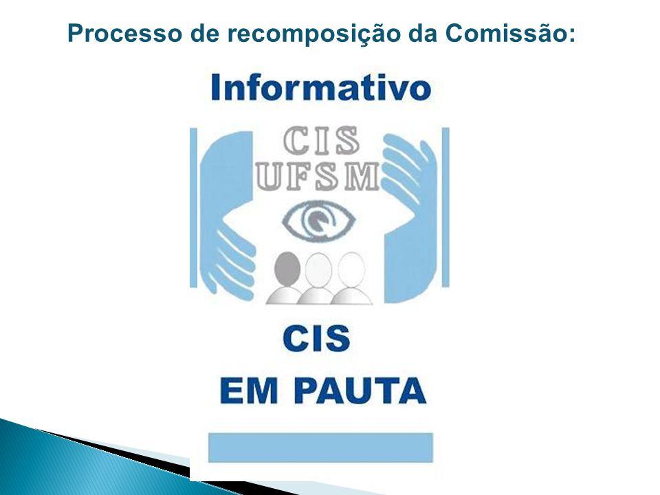 Processo de recomposição da Comissão: