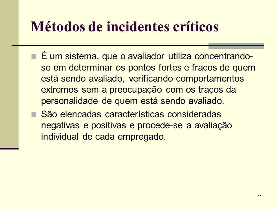 Métodos de incidentes críticos