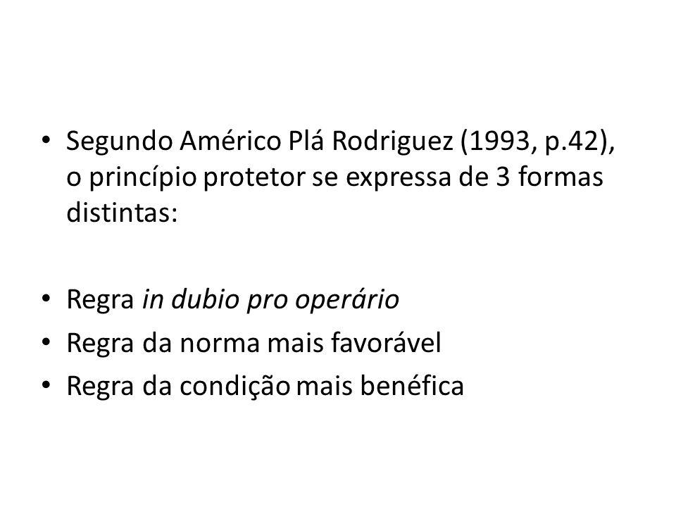 Segundo Américo Plá Rodriguez (1993, p