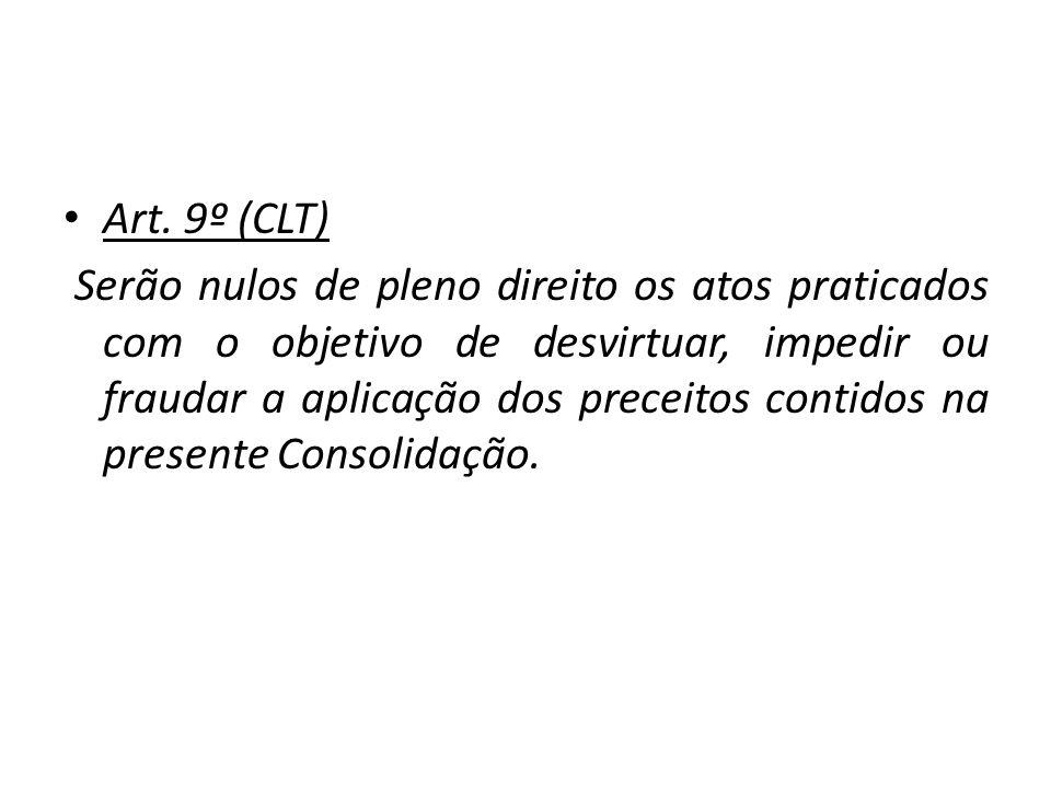 Art. 9º (CLT)
