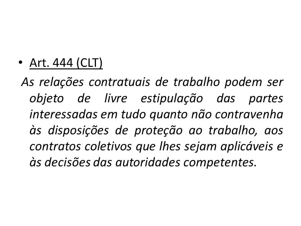 Art. 444 (CLT)