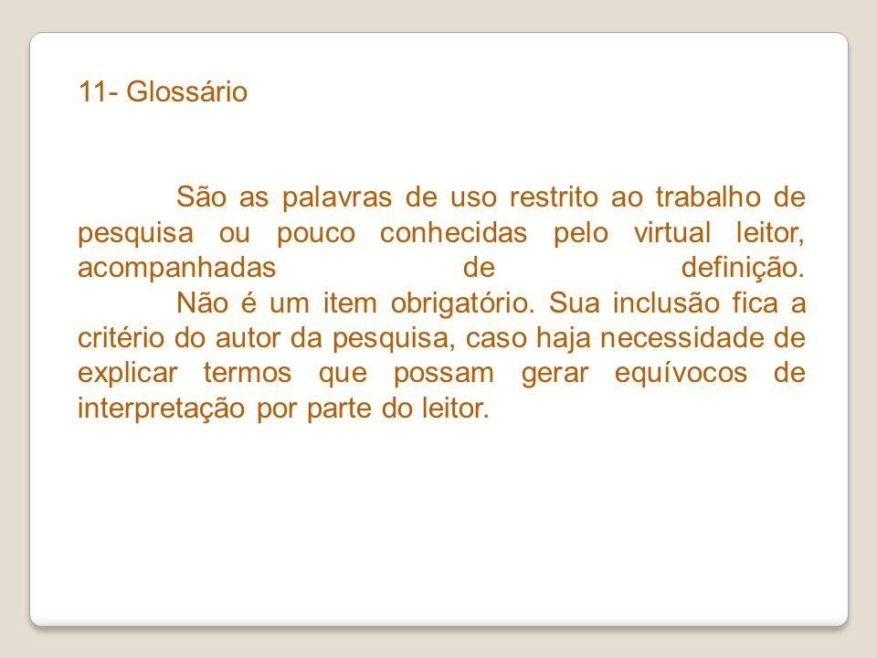 11- Glossário