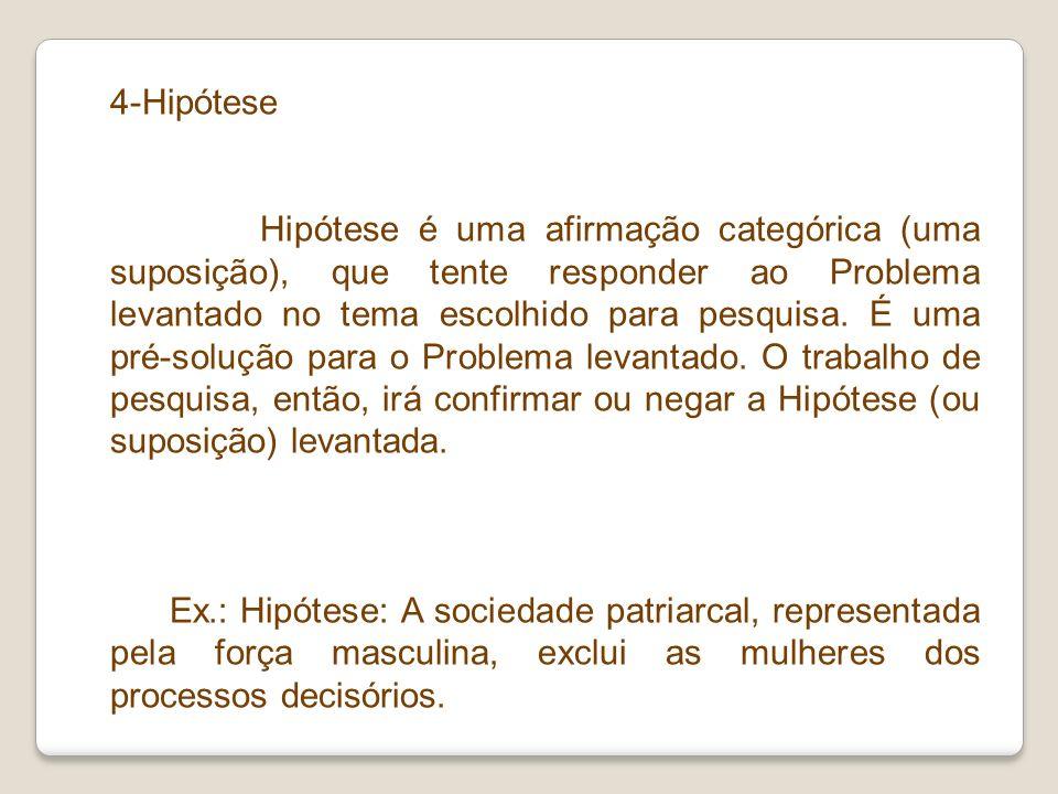 4-Hipótese