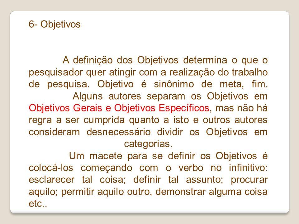 6- Objetivos