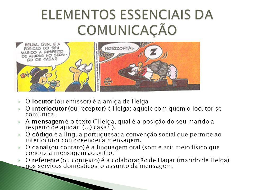 ELEMENTOS ESSENCIAIS DA COMUNICAÇÃO