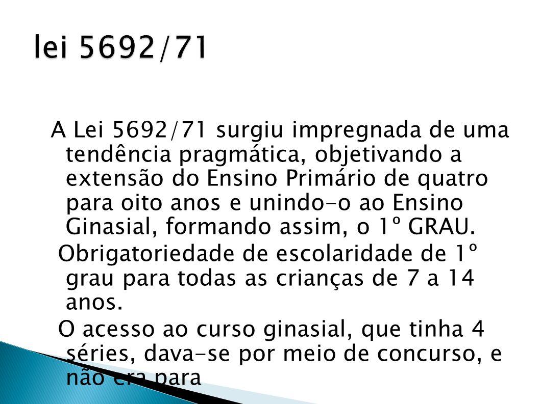 lei 5692/71