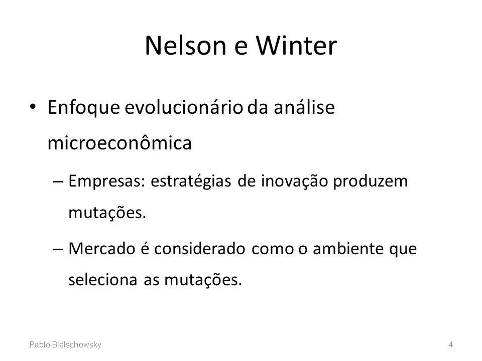 Nelson e Winter Enfoque evolucionário da análise microeconômica