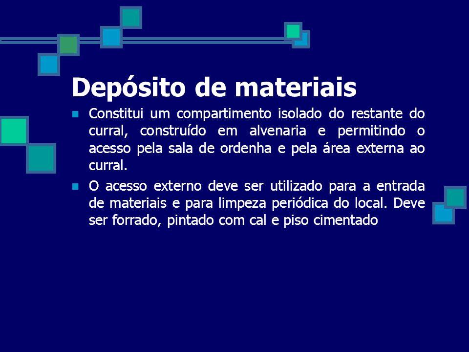 Depósito de materiais
