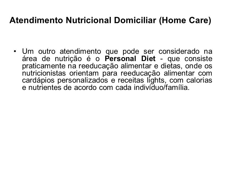 Atendimento Nutricional Domiciliar (Home Care)