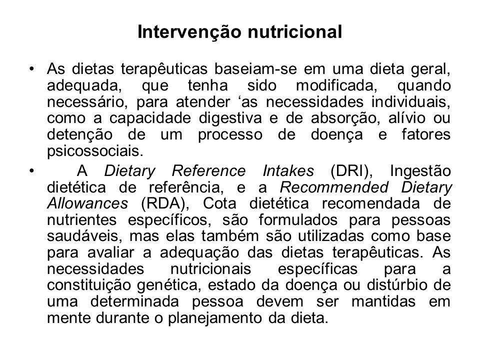 Intervenção nutricional