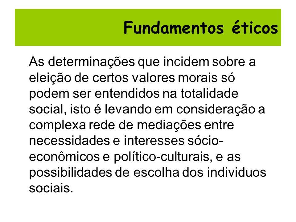 Fundamentos éticos