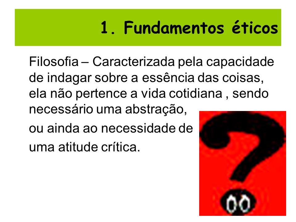 1. Fundamentos éticos