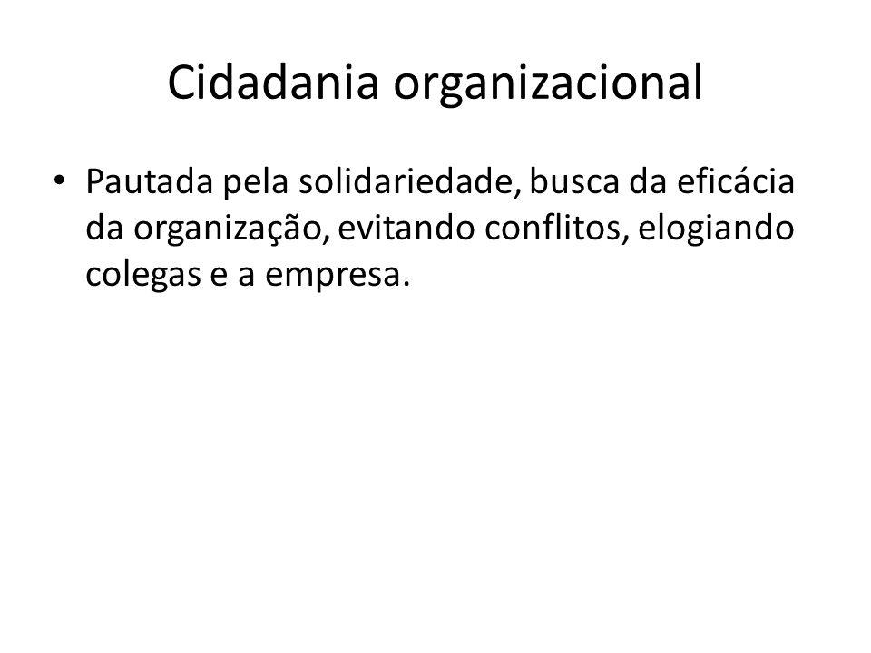 Cidadania organizacional