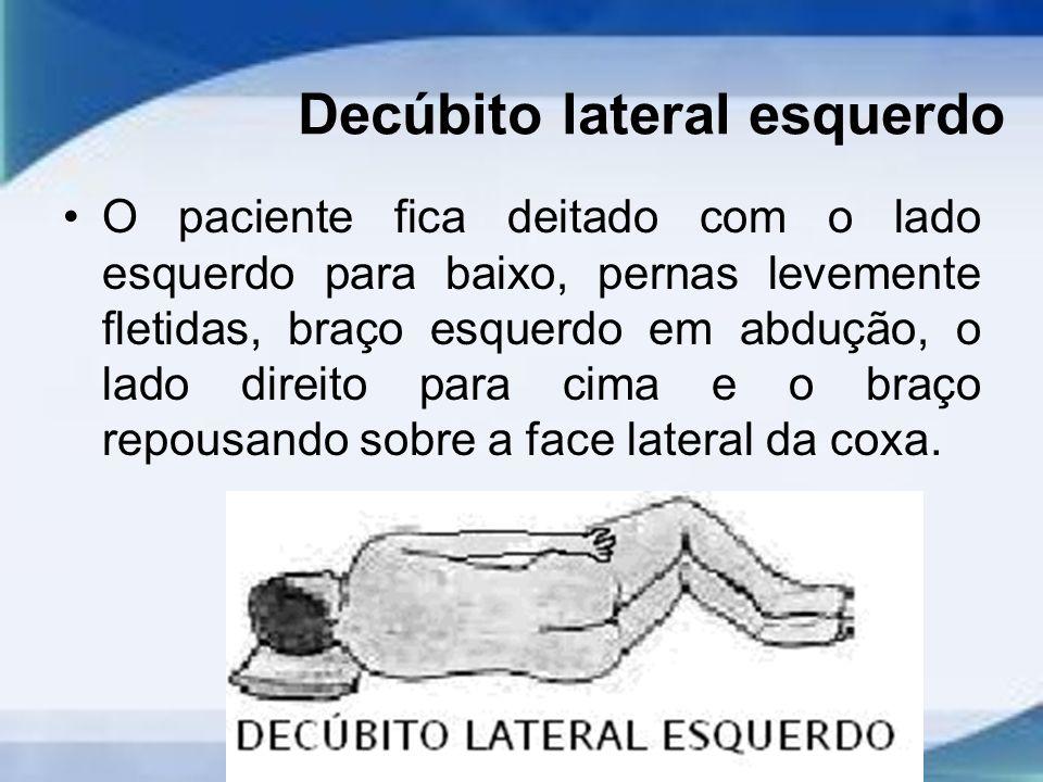 Decúbito lateral esquerdo