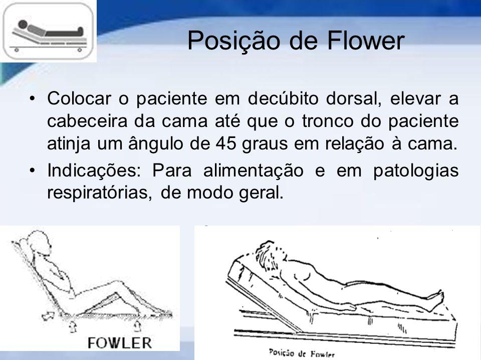 Posição de Flower