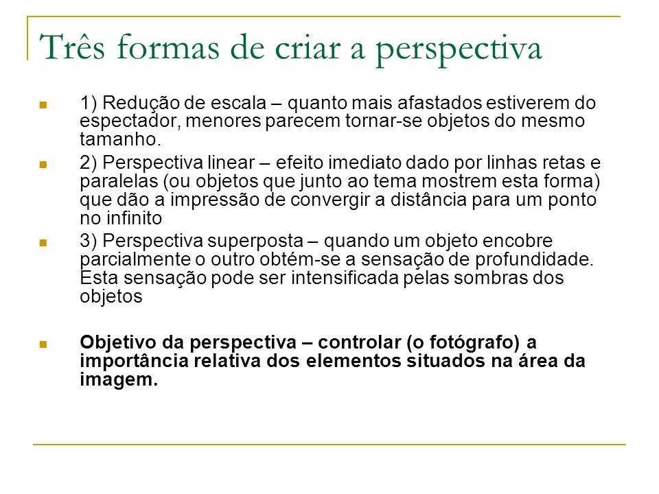 Três formas de criar a perspectiva